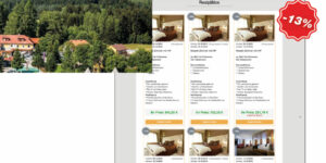 GASTROdat Hotelsoftware Restplatzbörse auf eigener Website eingebaut