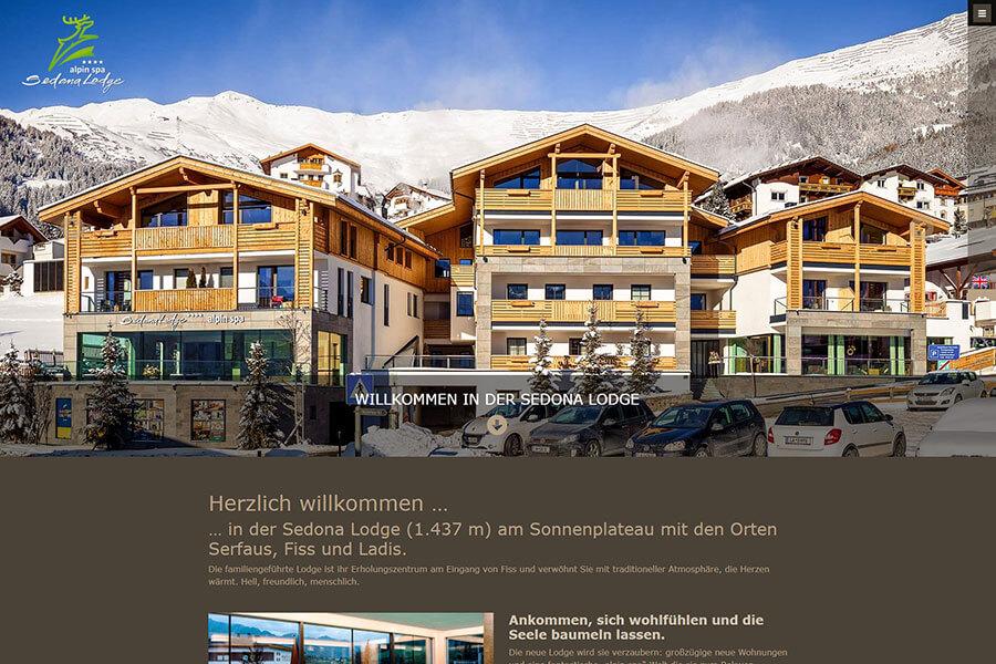 DynamicPages Referenz Sedona Lodge